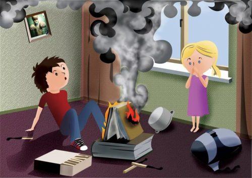 Чрезвычайные ситуации с ребенком