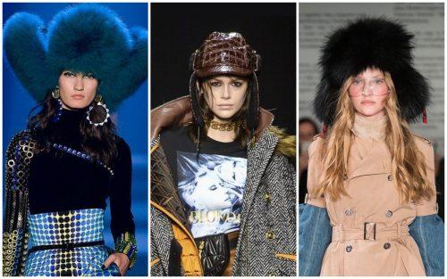 Модные зимние головные уборы