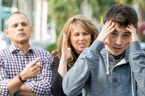 Трудности воспитания подростка