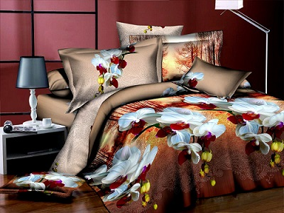 Какое выбрать постельное белье: сатин, шелк или ситец?
